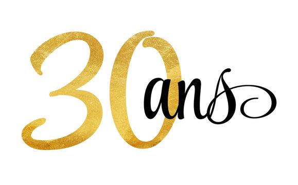 30 ans - signature