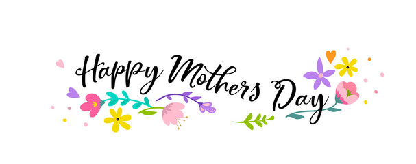Happy Mother's Day Background, banner and illustration