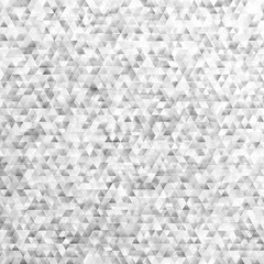 Geometrical retro polygonal triangle background design