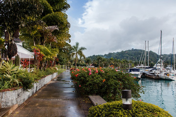 Port Antonio die Hauptstadt des Parish Portland auf Jamaika