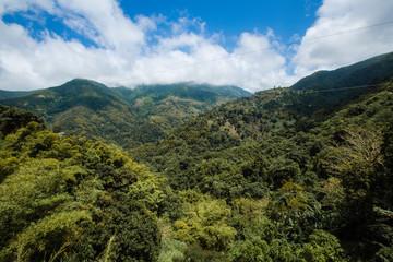 Foto auf Gartenposter Gebirge Blue mountains in der Karibik auf Jamaika