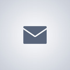 Newsletter icon, Message icon, Letter icon