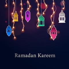 Ramadan Kareem background vector illustration design graphic.
