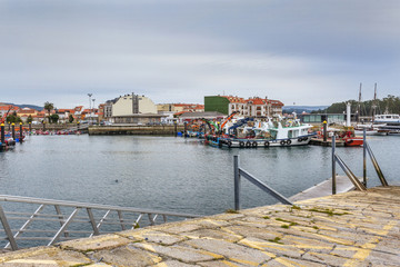 Vilanova de Arousa fishing harbor