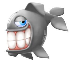 Fototapete - balena sorridente