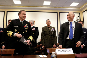 NSA director Navy Adm. Michael Rogers testify at a House Armed Services Emerging Threats and Capabilities Subcommittee