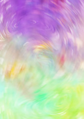 Colorful vortex abstraction. Bright futuristic whirl art wallpaper. Creativity digital artwork in fantasy style. Twisted glow graphic painting texture background. Blur motion design.