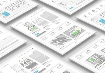 Responsive UX Design Layout Kit