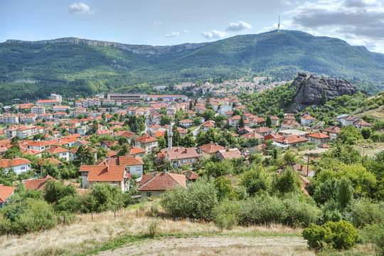 Village Belogradchik in Bulgaria