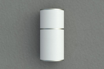 Blank tube container