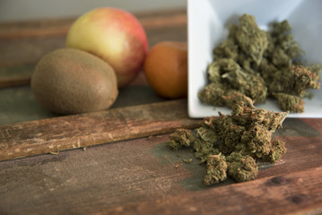 Cannabis with Fruit 3