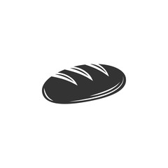 Bread icon. Simple element illustration. Bread symbol design template. Can be used for web and mobile