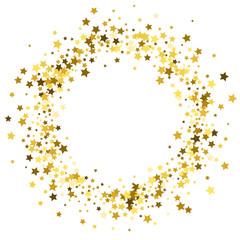 Frame or border of stars