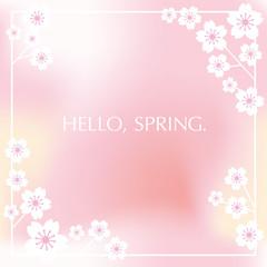 春のフレーム