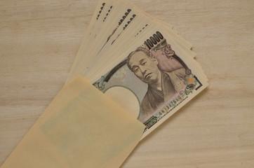 一万円札 封筒