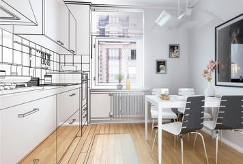 Einbauküche (Plan)