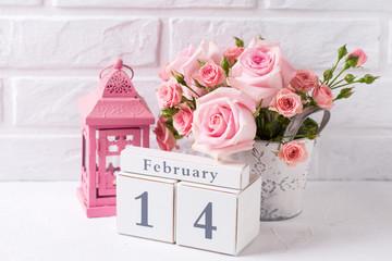 St. Valentine Day background.