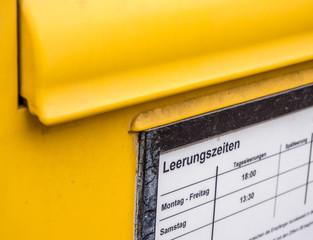 Briefkasten in Deutschland
