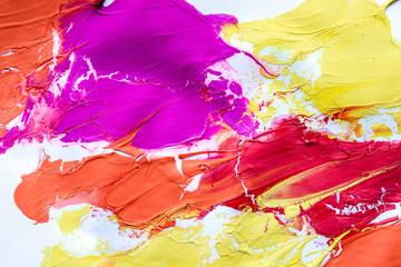 Multicolored abstract texture with stains, space for text or image. Peace of art