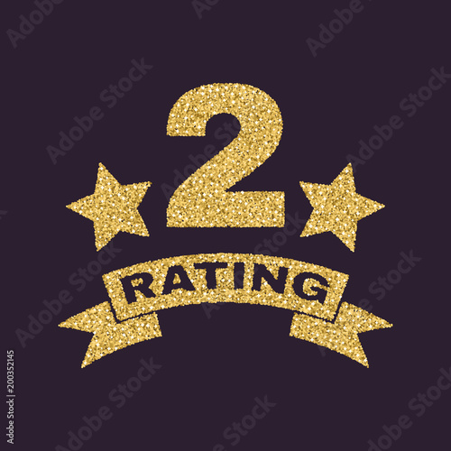 The Second Place Rating Icon Ranking And Classification Second