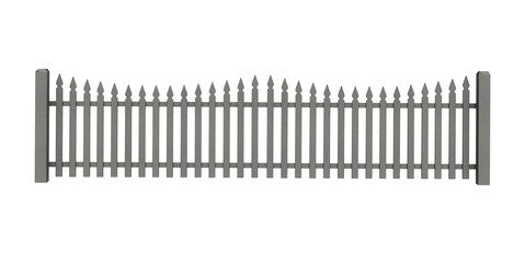 Traditional Picket Fence Element