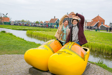 Netherland souvenir wood shoe