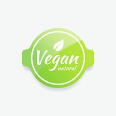 Vegan Natural Label