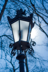 Lantern in daylight