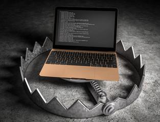 3d Falle - Laptop
