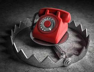 3d Falle - Telefon