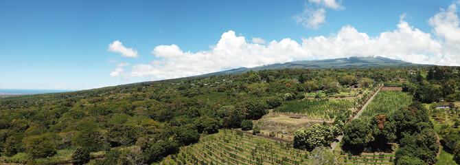 Volcano slopes Hawaii