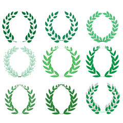 Laurel wreath reward set