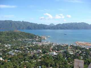 View From Mount Tapyas, Coron, Philippines