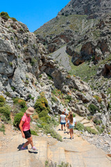 Randonnée dans les Gorges de Prassano en Crète