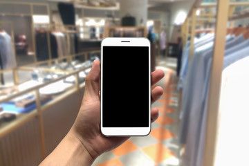 blurred photo, Blurry image, People shopping in Community Mall or Department Store,  background