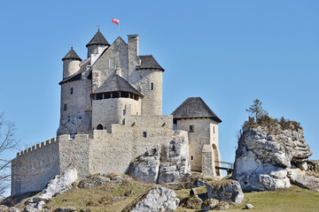 Zamek Bobolice.
