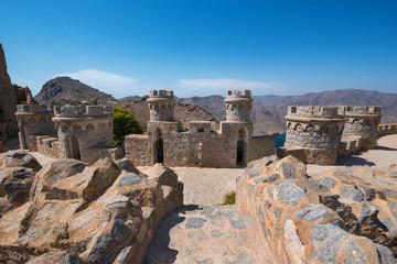 La Azohia fort in Cartagena, Murcia, Spain.