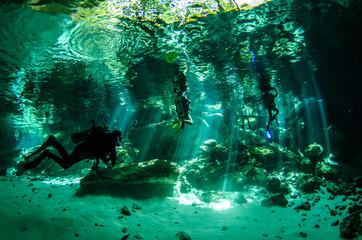 Yucatan cenotes, Mexico.