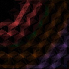 Abstract black triangles background