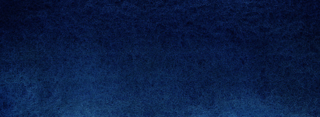 Dark deep blue texture. Night sky or sea abyss. Saturated bright background. Hand drawn watercolor.