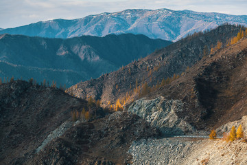 Altai mountains Landscape. Altai Republic, Russia.