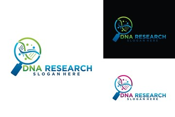 DNA research technology design template
