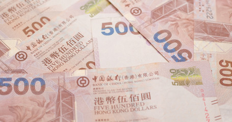 Group of HK dollar