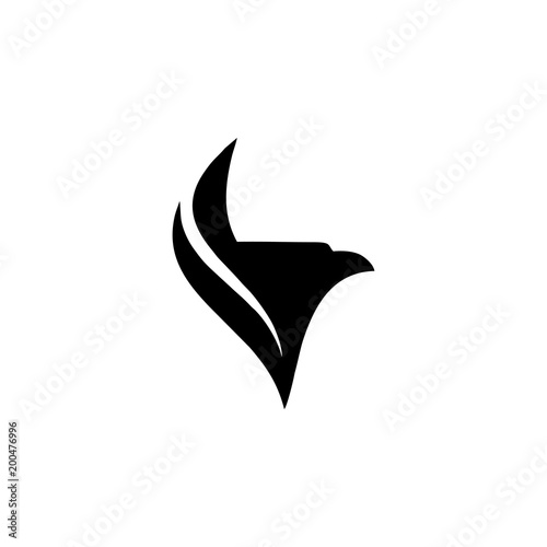 eagle logo vector stock image and royalty free vector files on