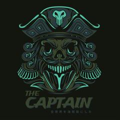 The Captain Illustration