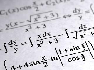 Math on paper