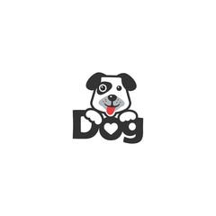 dog emblem logo