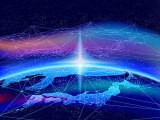テクノロジービジネスの幕開け-グローバルネットワーク