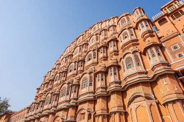 Wall Mural - Hawa mahal, The palace of wind.