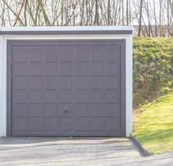 Tor einer Garage